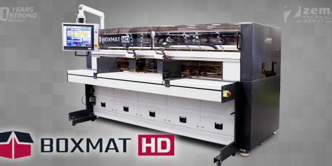 Boxmat - HD Автомат для виробництва картонної тари з гофрованого картону