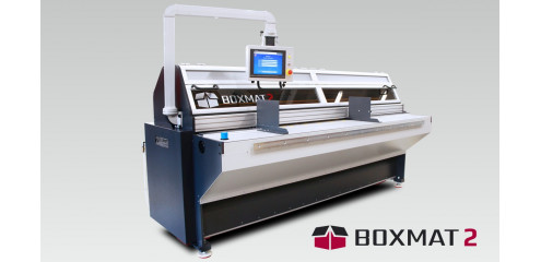 Boxmat 2 - Semi-automatic machine for the production of cardboard packaging