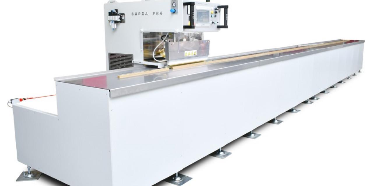 Supra PRO - Jeżdżąca zgrzewarka wysokiej częstotliwości do sufitów napinanych
